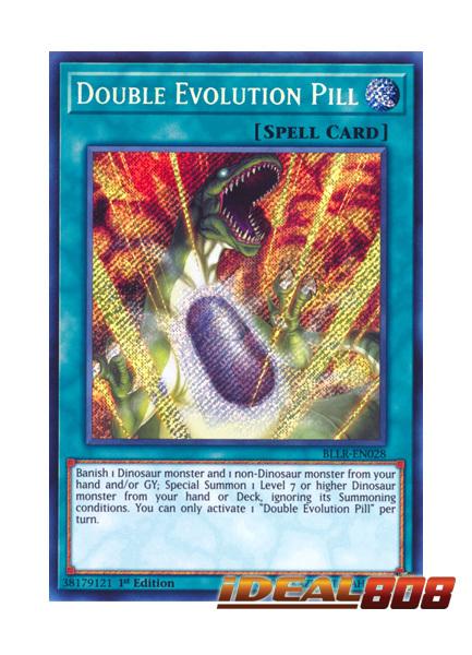 Double Evolution Pill - BLLR-EN028 - Secret Rare - 1st Edition