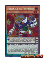 Performapal Odd-Eyes Synchron - BLLR-EN004 - Secret Rare - 1st Edition