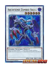 Archfiend Zombie-Skull - BLLR-EN058 - Ultra Rare - 1st Edition