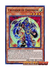 Crusader of Endymion - BLLR-EN048 - Ultra Rare - 1st Edition