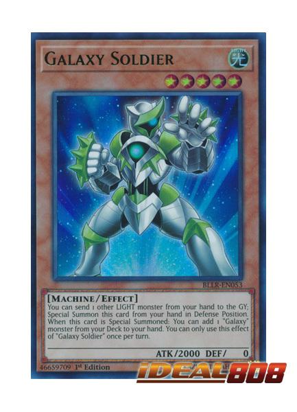 Galaxy Soldier - BLLR-EN053 - Ultra Rare - 1st Edition