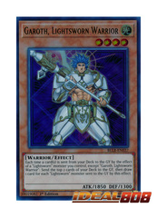 Garoth, Lightsworn Warrior - BLLR-EN037 - Ultra Rare - 1st Edition