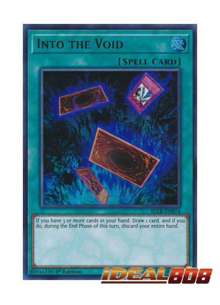 Into the Void - BLLR-EN074 - Ultra Rare - 1st Edition