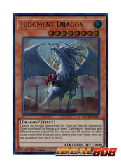 Judgment Dragon - BLLR-EN041 - Ultra Rare - 1st Edition