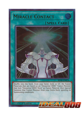 Miracle Contact - BLLR-EN076 - Ultra Rare - 1st Edition