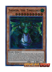 Sadion, the Timelord - BLLR-EN033 - Ultra Rare - 1st Edition
