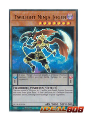 Twilight Ninja Jogen - BLLR-EN016 - Ultra Rare - 1st Edition