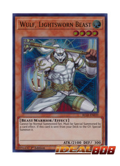 Wulf, Lightsworn Beast - BLLR-EN039 - Ultra Rare - 1st Edition