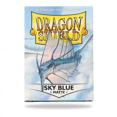 Dragon Shield Standard-size (100ct) Sleeves - Matte Sky Blue