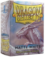 Dragon Shield Standard-size (100ct) Sleeves - Matte White