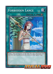 Forbidden Lance - YS17-EN026 - Common - 1st Edition