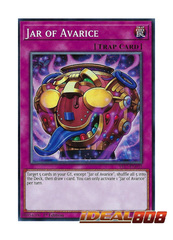 Jar of Avarice - YS17-EN032 - Common - 1st Edition