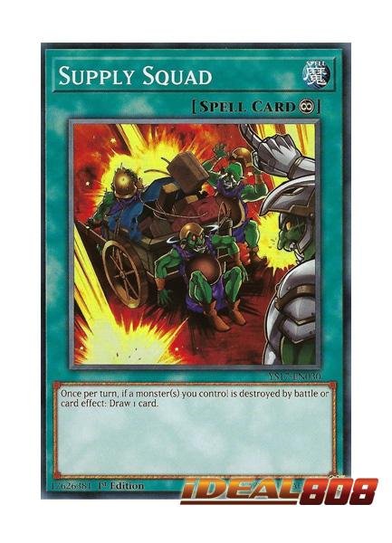 Supply Squad YS17-EN030 Yu-Gi-Oh Common Card 1st Edition English Mint