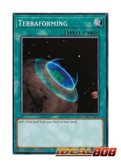 Terraforming - YS17-EN031 - Common - 1st Edition
