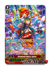 Celebrate Voice, Lauris - G-CB05/S44EN - SP (Special Parallel Full Art)