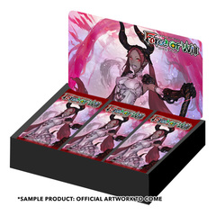 R01 Ancient Nights (English) Force of Will Booster Box