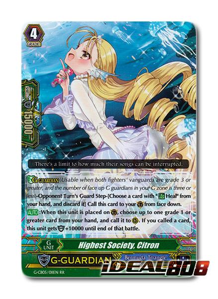 Highest Society, Citron - G-CB05/011EN - RR