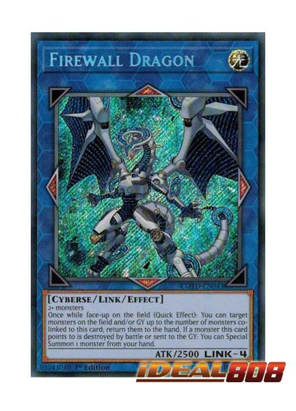 Firewall Dragon - COTD-EN043 - Secret Rare - 1st Edition