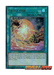 Castle Link - COTD-EN065 - Ultra Rare - 1st Edition