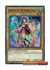 Crowned by the World Chalice - COTD-EN018 - Common - 1st Edition