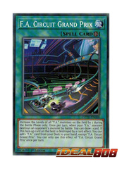 F.A. Circuit Grand Prix - COTD-EN088 - Common - 1st Edition