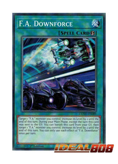 F.A. Downforce - COTD-EN089 - Common - 1st Edition