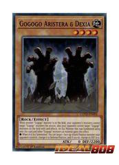 Gogogo Aristera & Dexia - COTD-EN092 - Common - 1st Edition