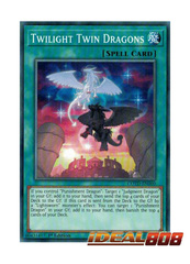 Twilight Twin Dragons - COTD-EN060 - Common - 1st Edition