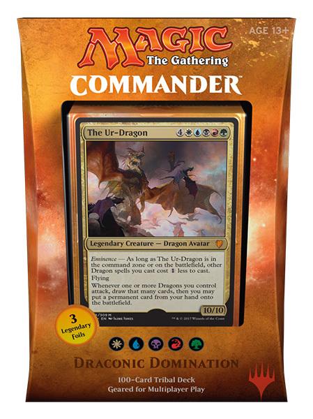 Commander 2017: Draconic Domination (White / Blue / Black / Red