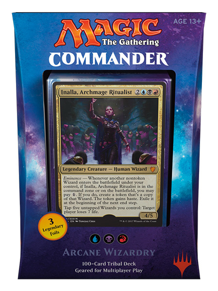 Commander 2017: Arcane Wizardry (Blue / Black / Red)