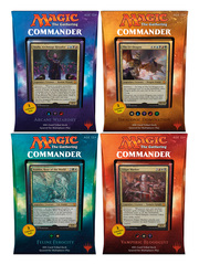 Commander 2017 (C17) Decks - Complete Set of 4