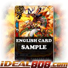 Unruly Fifth Omni Dragon Lord, Tenbu [X-BT02A-SS01/0033EN Secret (FOIL)] English