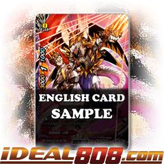 Purgatory Knights, Needle Claw Dragon [X-BT02A-SS02/0037EN Secret (Glossy)] English