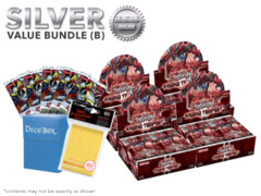 Yugioh Raging Tempest Bundle (B) Silver - Get x4 Booster Boxes + Bonus Items (See Description)