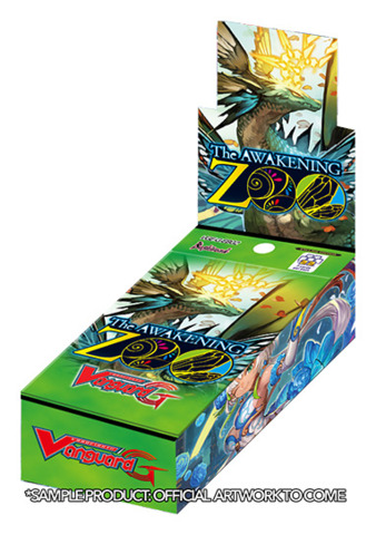 CFV-G-EB02 The AWAKENING ZOO (English) Cardfight Vanguard G-Extra Booster Box