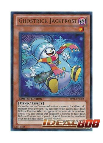 Ghostrick Jackfrost - LVAL-ENDE2 - Ultra Rare