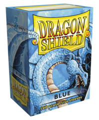 Dragon Shield Standard-size (100ct) Sleeves - Blue