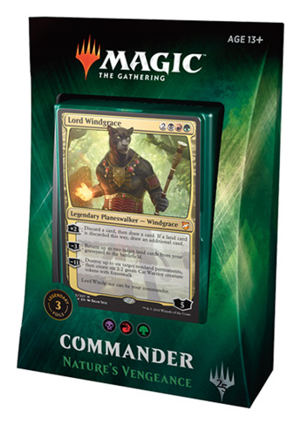 Commander 2018: Nature's Vengeance (Black / Red / Green)