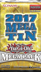 Yugioh 2017 Mega-Tin Mega Pack (1st Edition) Booster Pack