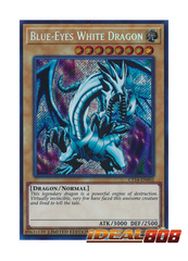 Blue-Eyes White Dragon - CT14-EN002 - Secret Rare - Limited Edition