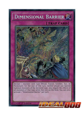 Dimensional Barrier - MP17-EN163 - Secret Rare - 1st Edition