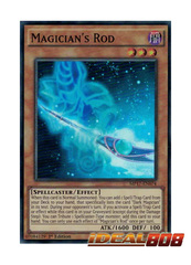 Magician's Rod - MP17-EN074 - Super Rare - 1st Edition