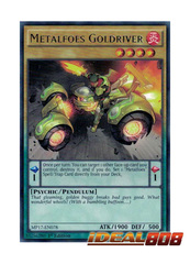 Metalfoes Goldriver - MP17-EN078 - Rare - 1st Edition