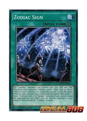 Zodiac Sign - MP17-EN211 - Common - 1st Edition
