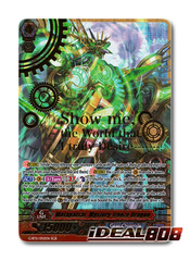 Metapulsar, Mystery-freeze Dragon - G-BT11/002EN - SGR (Gold Hot Stamp)