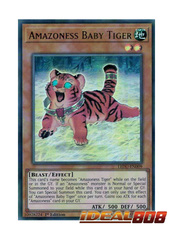 Amazoness Baby Tiger - LEDU-EN009 - Ultra Rare - 1st Edition