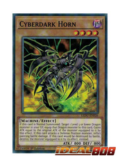 Cyberdark Horn - LEDU-EN026 - Common - 1st Edition