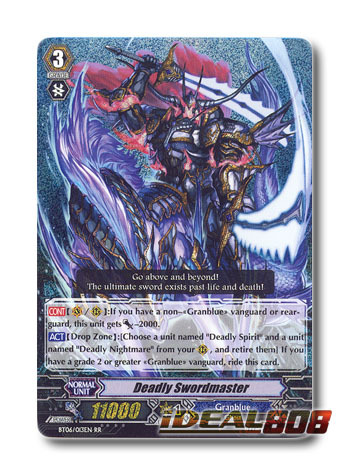 Deadly Swordmaster - BT06/013EN - RR