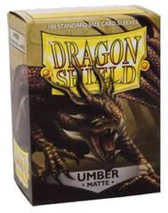 Dragon Shield Standard-size (100ct) Sleeves - Matte Umber