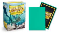 Dragon Shield Standard-size (100ct) Sleeves - Matte Mint